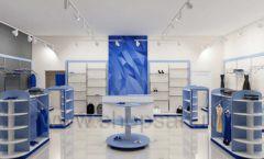 Дизайн интерьера магазина одежды торговое оборудование ГОЛУБАЯ ЛАГУНА Дизайн 08
