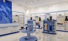 Дизайн интерьера магазина одежды торговое оборудование ГОЛУБАЯ ЛАГУНА Дизайн 10
