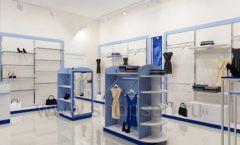 Дизайн интерьера магазина одежды торговое оборудование ГОЛУБАЯ ЛАГУНА Дизайн 11