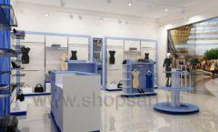 Дизайн интерьера магазина одежды торговое оборудование ГОЛУБАЯ ЛАГУНА Дизайн 12