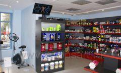 Торговое оборудование спортивного магазина Sportsman ТОРГОВЫЕ СТЕЛЛАЖИ Фото 02