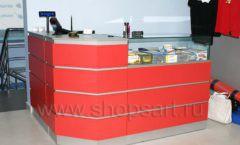 Торговое оборудование спортивного магазина Sportsman ТОРГОВЫЕ СТЕЛЛАЖИ Фото 22