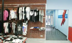 Торговое оборудование спортивного магазина Sportsman ТОРГОВЫЕ СТЕЛЛАЖИ Фото 27