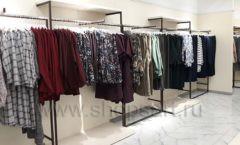 Торговое оборудование магазина одежды Femme ЛОФТ Фото 01