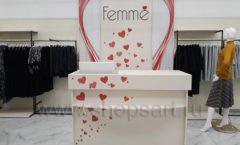 Торговое оборудование магазина одежды Femme ЛОФТ Фото 02