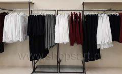 Торговое оборудование магазина одежды Femme ЛОФТ Фото 05