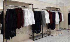 Торговое оборудование магазина одежды Femme ЛОФТ Фото 16