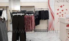 Торговое оборудование магазина одежды Femme ЛОФТ Фото 25