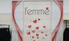 Торговое оборудование магазина одежды Femme ЛОФТ Фото 26