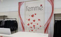 Торговое оборудование магазина одежды Femme ЛОФТ Фото 27