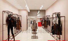 Дизайн интерьера магазина шуб Ягуар торговое оборудование КЛАССИЧЕСКИЙ ЛОФТ Дизайн 2