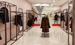 Дизайн интерьера магазина шуб Ягуар торговое оборудование КЛАССИЧЕСКИЙ ЛОФТ Дизайн 7