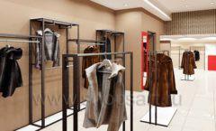 Дизайн интерьера магазина шуб Ягуар торговое оборудование КЛАССИЧЕСКИЙ ЛОФТ Дизайн 8