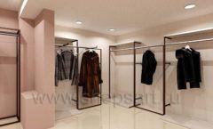 Дизайн интерьера магазина шуб Ягуар торговое оборудование КЛАССИЧЕСКИЙ ЛОФТ Дизайн 9