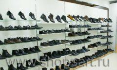Торговое оборудование магазина обуви Банана Шуз этаж 1 КОФЕ С МОЛОКОМ Фото 01