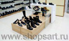 Торговое оборудование магазина обуви Банана Шуз этаж 1 КОФЕ С МОЛОКОМ Фото 02