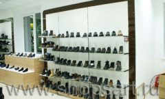 Торговое оборудование магазина обуви Банана Шуз этаж 1 КОФЕ С МОЛОКОМ Фото 03
