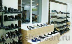 Торговое оборудование магазина обуви Банана Шуз этаж 1 КОФЕ С МОЛОКОМ Фото 04