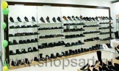 Торговое оборудование магазина обуви Банана Шуз этаж 1 КОФЕ С МОЛОКОМ Фото 07