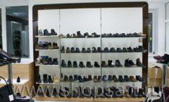 Торговое оборудование магазина обуви Банана Шуз этаж 1 КОФЕ С МОЛОКОМ Фото 08