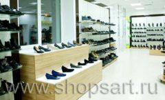 Торговое оборудование магазина обуви Банана Шуз этаж 1 КОФЕ С МОЛОКОМ Фото 10