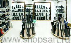 Торговое оборудование магазина обуви Банана Шуз этаж 1 КОФЕ С МОЛОКОМ Фото 11