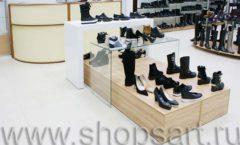 Торговое оборудование магазина обуви Банана Шуз этаж 1 КОФЕ С МОЛОКОМ Фото 12