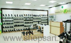 Торговое оборудование магазина обуви Банана Шуз этаж 1 КОФЕ С МОЛОКОМ Фото 14