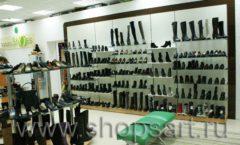 Торговое оборудование магазина обуви Банана Шуз этаж 1 КОФЕ С МОЛОКОМ Фото 15