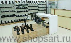 Торговое оборудование магазина обуви Банана Шуз этаж 1 КОФЕ С МОЛОКОМ Фото 20