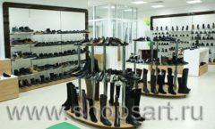 Торговое оборудование магазина обуви Банана Шуз этаж 1 КОФЕ С МОЛОКОМ Фото 21