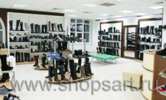 Торговое оборудование магазина обуви Банана Шуз этаж 2 ГЛАМУР Фото 02