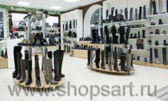 Торговое оборудование магазина обуви Банана Шуз этаж 2 ГЛАМУР Фото 03