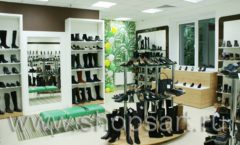 Торговое оборудование магазина обуви Банана Шуз этаж 2 ГЛАМУР Фото 04