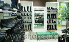 Торговое оборудование магазина обуви Банана Шуз этаж 2 ГЛАМУР Фото 05