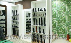 Торговое оборудование магазина обуви Банана Шуз этаж 2 ГЛАМУР Фото 06