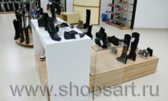 Торговое оборудование магазина обуви Банана Шуз этаж 2 ГЛАМУР Фото 07
