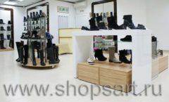 Торговое оборудование магазина обуви Банана Шуз этаж 2 ГЛАМУР Фото 09