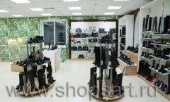 Торговое оборудование магазина обуви Банана Шуз этаж 2 ГЛАМУР Фото 10
