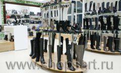 Торговое оборудование магазина обуви Банана Шуз этаж 2 ГЛАМУР Фото 11