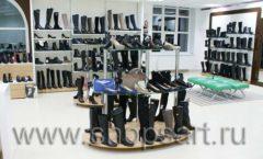 Торговое оборудование магазина обуви Банана Шуз этаж 2 ГЛАМУР Фото 12