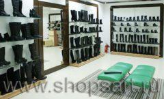 Торговое оборудование магазина обуви Банана Шуз этаж 2 ГЛАМУР Фото 13