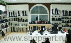 Торговое оборудование магазина обуви Банана Шуз этаж 2 ГЛАМУР Фото 14