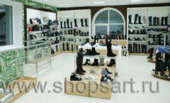 Торговое оборудование магазина обуви Банана Шуз этаж 2 ГЛАМУР Фото 16
