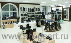 Торговое оборудование магазина обуви Банана Шуз этаж 2 ГЛАМУР Фото 17