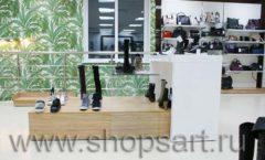 Торговое оборудование магазина обуви Банана Шуз этаж 2 ГЛАМУР Фото 18