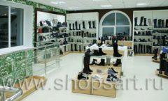 Торговое оборудование магазина обуви Банана Шуз этаж 2 ГЛАМУР Фото 19