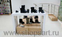 Торговое оборудование магазина обуви Банана Шуз этаж 2 ГЛАМУР Фото 20