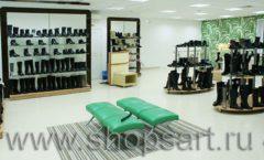 Торговое оборудование магазина обуви Банана Шуз этаж 2 ГЛАМУР Фото 21