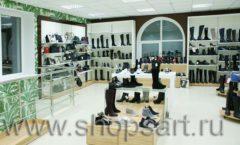 Торговое оборудование магазина обуви Банана Шуз этаж 2 ГЛАМУР Фото 24